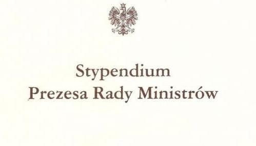 Uczennica ZS6 stypendystką Prezesa Rady Ministrów